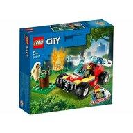 Set de joaca Incendiu in padure LEGO® City, pcs  84