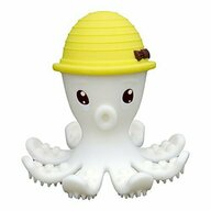 Mombella - Inel gingival Octopus din Silicon, Galben