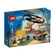 Set de joaca Interventie cu elicopterul de pompieri LEGO® City, pcs  93