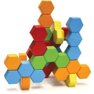 Fat Brain Toys - Joc de constructie IQ HexActly