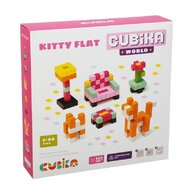 Cubika - Set de constructie Kitty Flat World