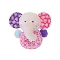 Lorelli Toys - Zornaitoare de plus Elefant 11 cm
