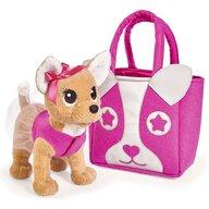 Simba - Jucarie de plus Catel Chi Chi love puppy 20 cm cu geanta