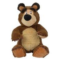 Simba - Jucarie de plus Masha and the Bear, Bean Bag Bear 20 cm
