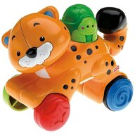 Fisher Price - Jucarie interactiva Tigru by Mattel Infant Press and Go