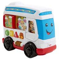 Fisher Price - Jucarie interactiva Autobuzul cu sunete In limba romana by Mattel Laugh and Learn