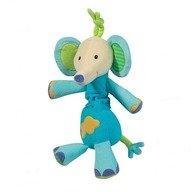 Brevi Soft Toys - Jucarie muzicala Elefantel, Multicolor