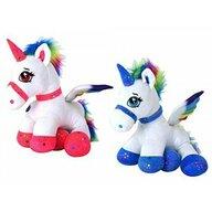 Globo - Jucarie de plus pentru fetite, ponei unicorn, 44 cm