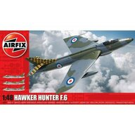 Airfix - Kit constructie Avion Hawker Hunter F6, scara 1:48