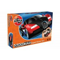 Airfix - Kit constructie Bugatti Veyron, Black and Red