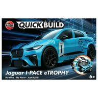 Airfix - Set de constructie Jaguar I-Pace eTrophy Quick Build