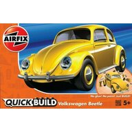 Airfix - Kit constructie Quick Build VW Beetle, Yellow