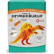 Fiesta Crafts - Set de constructie Spinosaurus Cu argila din Lemn
