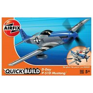 Airfix - Kit constructie Quick Build Avion D-Day P-51D Mustang