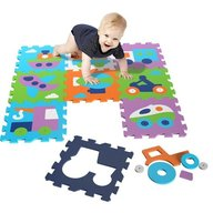 Knorrtoys - Covor puzzle din spuma Vehicles 9 piese