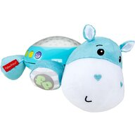 Lampa de veghe Hipopotam Din plus, Cu proiector by Mattel Newborn, Albastru