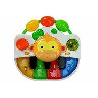Lean Toys - Jucarie pian , muzical si luminos, maimutica