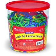 Learning Resources - Linknlearn verigi 4 culori set 500