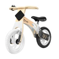 Lionelo - Bicicleta din lemn fara pedale Willy, Carbon