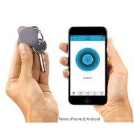 Lapa - Localizator Bluetooth, dispozitiv anti-pierdere si localizare rapida+Cadou Set 2 semnalizatoare luminoase Proviz, Grey