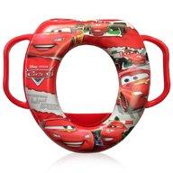 Lorelli - Reductor moale pentru toaleta, Disney, cu manere, Cars Red