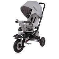 Lorelli - Tricicleta pentru copii Jet Air , roti mari cu camera , Light Dark Grey