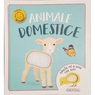 Girasol - Carte cu activitati Animale domestice Mangaie-ma si spune cine sunt