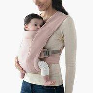 Ergobaby - Marsupiu ergonomic Embrace Blush, 3 pozitii, Roz