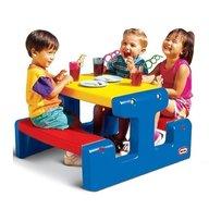 Little Tikes - Masa de picnic pentru 4 copii, Multicolor