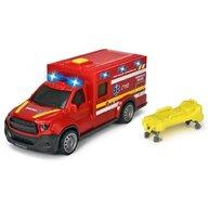 Dickie Toys - Ambulanta City Ambulance SMURD Cu accesorii