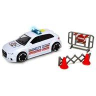 Dickie Toys - Masina de politie Audi RS3 cu accesorii