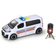 Dickie Toys  - Masina de politie Citroen SpaceTourer cu radar de viteza