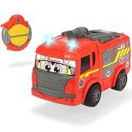 Dickie Toys - Masina de pompieri Happy Fire Truck Cu telecomanda