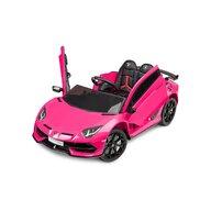 Toyz - Masinuta electrica Lamborghini Aventador SVJ 12V Cu telecomanda, Roz