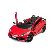 Toyz - Masinuta electrica Lamborghini Aventador SVJ 12V Cu telecomanda, Rosu