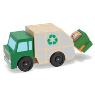 Melissa & Doug - masina de gunoi din lemn