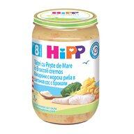 HiPP - Meniu Hipp cu taitei cu peste de mare in broccoli cremos 220 gr