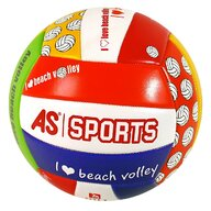 AS - Minge de volei I love beach, Multicolor