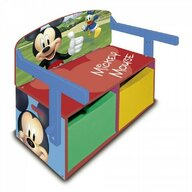 Arditex - Mobilier depozitare jucarii 2 in 1 Mickey Mouse, 70x60 cm