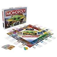 Hasbro - Monopoly The child baby Yoda, Multicolor