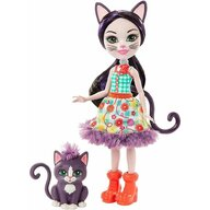Enchantimals - Set papusa Ciesta Cat by Mattel