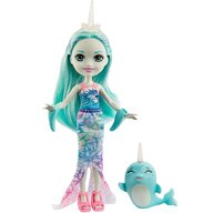 Enchantimals - Set papusa Naddie Narwhal by Mattel