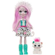 Enchantimals - Set papusa Sybill Snow Leopard by Mattel