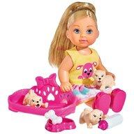 Simba - Papusa Evi Love Puppy Love Cu 3 catelusi si accesorii