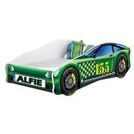 MyKids - Pat tineret Race Car 04 Green , 160x80 cm