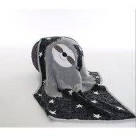 Bizzi Growin - Paturica tricotata din bumbac, Lenesul vesel