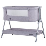Chipolino - Co-sleeper Sweet Dreams Tarc, 90x50 cm, Gri