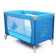 Coto Baby - Patut pliant cu doua nivele Samba Plus, 120x60 cm, Albastru