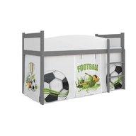 MyKids - Patut tineret Twist Antresola 02, 184x80 cm, Football
