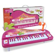 Bontempi - Pian Electronic Magic Cu lumini, Cu 37 de clape